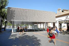 Mallorcas Hauptbahnhof erstrahlt in auffälliger Optik
