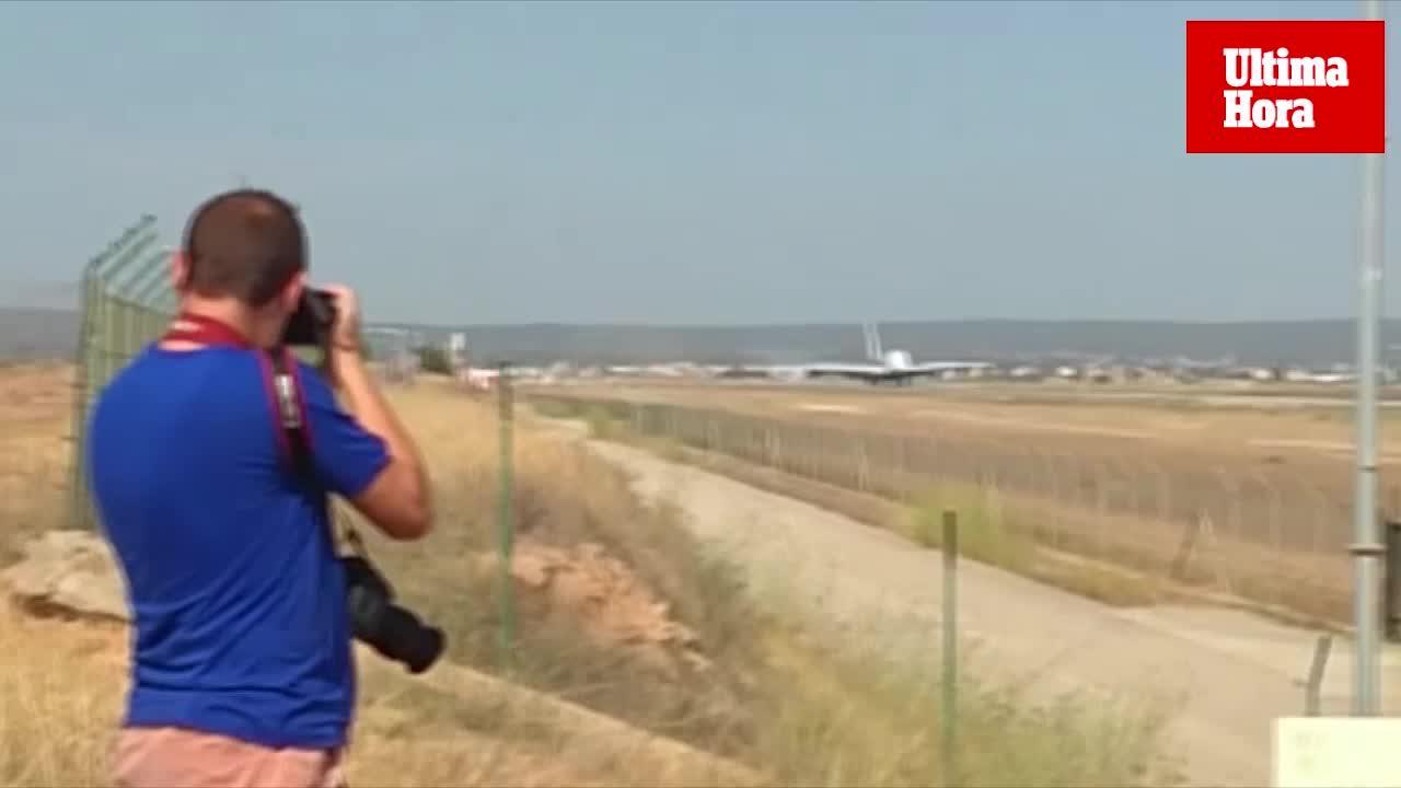 Größtes Passagierflugzeug der Welt landet auf Mallorca