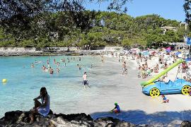 Der bekannteste Strandabschnitt an der Cala Mondragó ist der Hauptstrand ses Fonts de n'Alís.