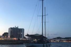 Historisches Segelschiff lief vor Cala Rajada auf Grund