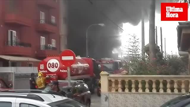 Fünf Menschen bei Brand in Palma leicht verletzt