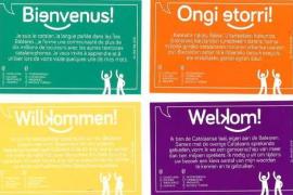 Regierung startet Katalanisch-Kampagne für Touristen