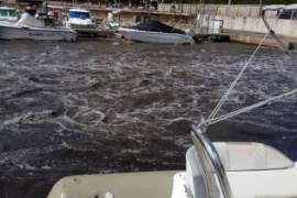 Palma-Strände nach Regenfällen geschlossen