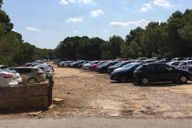 Inoffizieller Parkplatz bei Ses Covetes ist wieder zu