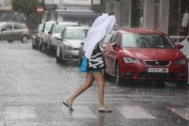 Trocken an den Küsten, Regengüsse rund um Manacor