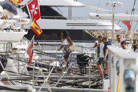 Michelle Obama macht wieder Urlaub auf Mallorca
