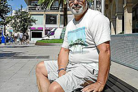 Verbraucherschützer Alfonso Rodríguez in Palma.