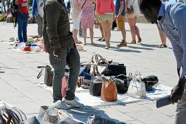 Streit um Straßenhandel in Palma de Mallorca
