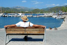 Nicht nur nachmittags lässt es sich gut relaxen in Port d'Andratx.