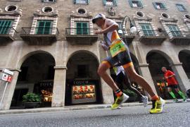 Straßensperren wegen Triathlon in Palma