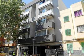 In Palma gehören viele Wohngebäude Banken.