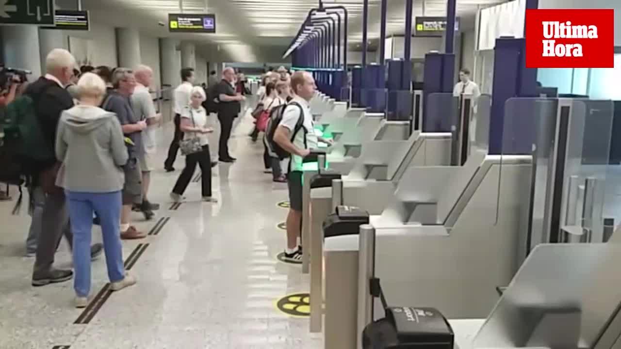 Sekundenschnelle Passkontrolle am Flughafen
