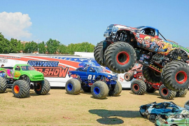 Monster-Truck-Alarm: Dröhnende Motoren in Palma