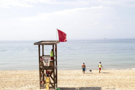 Palmas Stadtstrände: Wieder weht die rote Flagge