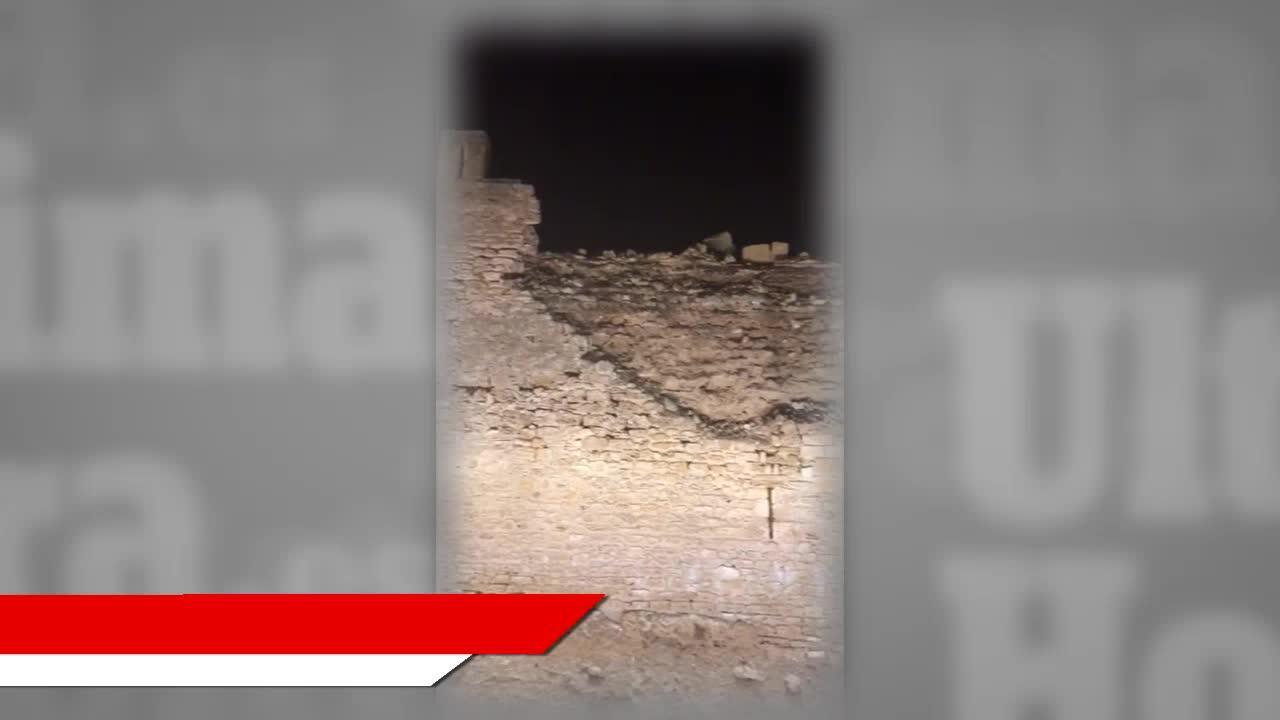 Teile der Stadtmauer in Alcúdia eingestürzt