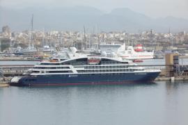 """Die """"Le Laperouse"""" wurde erst im Juli getauft und war zum ersten Mal in Palma."""
