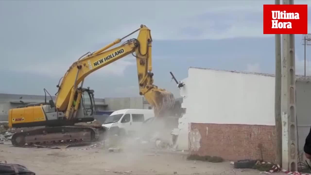 Abriss von Son Banya geht planmäßig weiter
