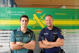 Deutscher Polizist verstärkt Guardia Civil in Cala Rajada