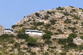 Zufahrtssperre zum Cap Formentor wird ausgeweitet