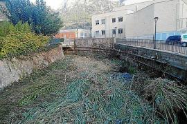 Behörden-Posse um verstopften Sturzbach