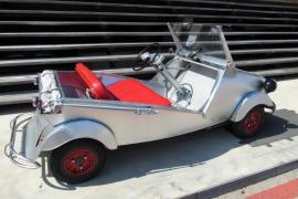Ein kleines Auto kam groß raus: Biscúter rollten in den 50er und 60er Jahren durch Spanien.