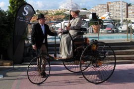 Der Benz-Patentwagen von 1886 gilt als erstes Auto der Welt.