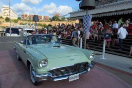 Der Ford Thunderbird wurde zum elegantesten auf Mallorca beheimateten Oldtimer gewählt.