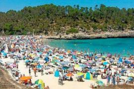 Cala Mondragó war diesen Sommer regelrecht überfüllt