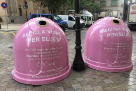 Palma sammelt Altglas gegen Brustkrebs