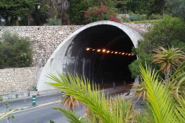 Tunnel von Sóller für einige Nächte dicht