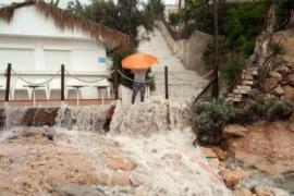 Heftige Niederschläge im Norden der Insel