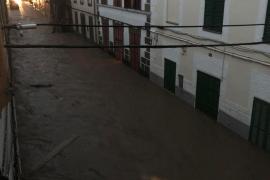 Sant Llorenç am Tag nach dem Unwetter.