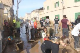 In Sant Llorenç gab es mehr als genug Helfer, in Canyamel oder S'Illot hätte man mehr brauchen können.