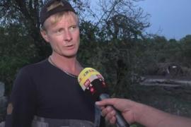 Daniel Thielk hatte das siebenjährige Mädchen, dessen Mutter bei der Flutkatastrophe von Sant Llorenç ertrunken ist, aus dem Was
