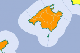 Erneut Starkregenalarm auf Mallorca