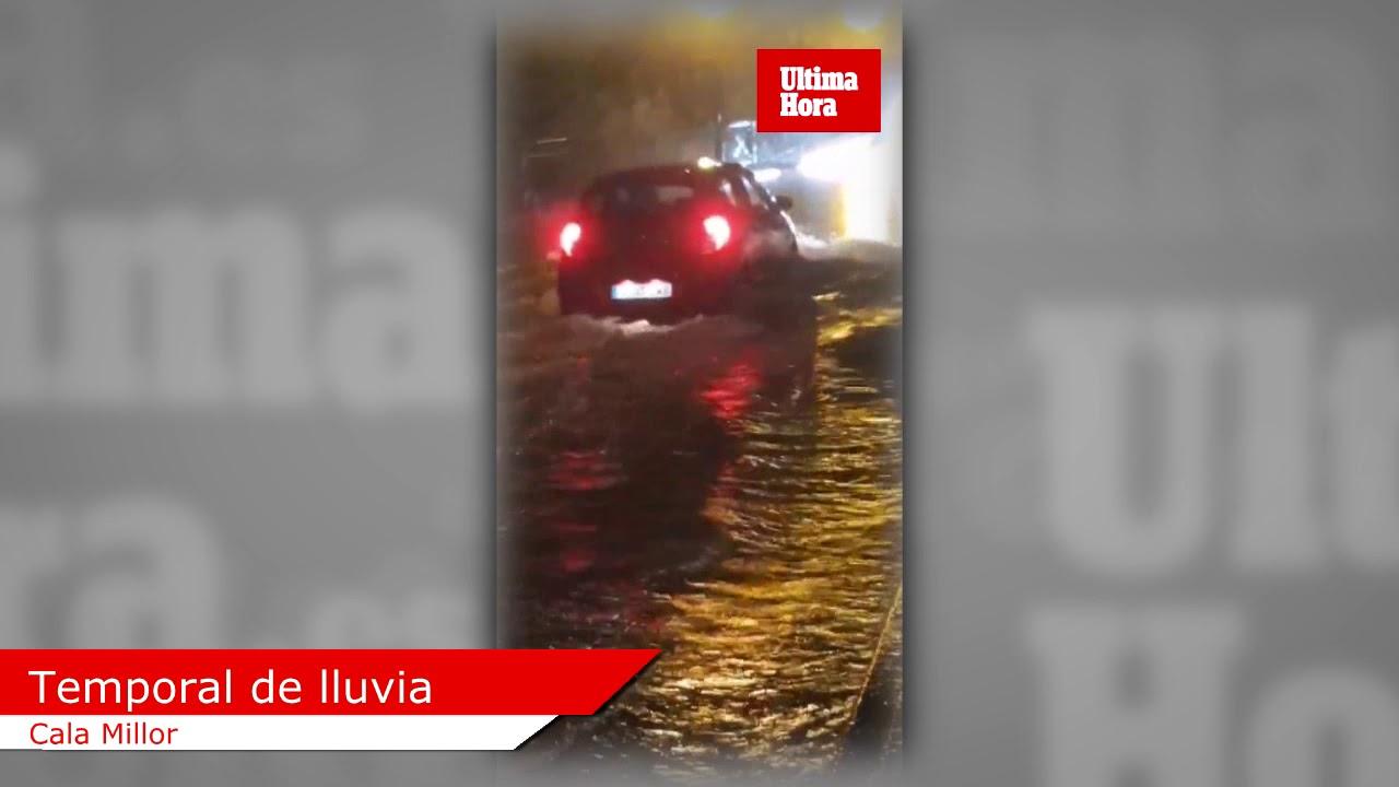 Heftige Regenschauer setzen Mallorca unter Wasser