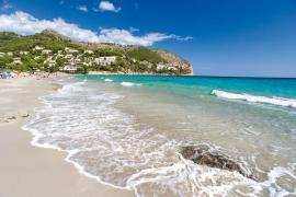 Unwetter lassen Strand von Canyamel fast verschwinden