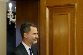 König Felipe VI. besucht Ultima-Hora-Ausstellung