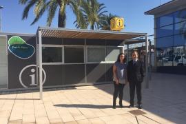 Neues Tourismus-Infozentrum am Hafen von Palma