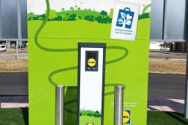 Lidl installiert E-Tankstellen Netz auf Mallorca