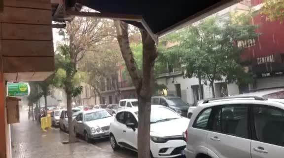 Schwere Gewitter auf Mallorca