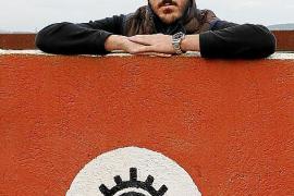 Sergio Galdón auf seinem Gehöft.
