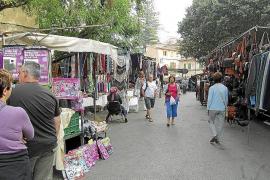 Markt von Sóller dehnt sich bis auf Bahngleise aus