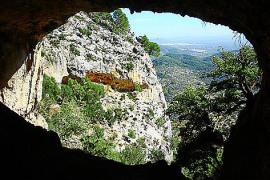 Heute nur noch Unterschlupf für Ziegen: Die Höhle von Sant Antoni.