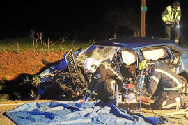 Mann stirbt bei Campos bei schwerem Autounfall