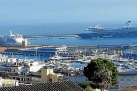 Neuer November-Rekord bei Kreuzfahrtschiffen in Palma