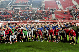 Mallorcas Fußballer üben Solidarität
