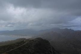 Kühleres Wetter und Nässe greifen nach Mallorca
