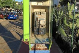 Noch immer gibt es auf Mallorca viele Telefonzellen