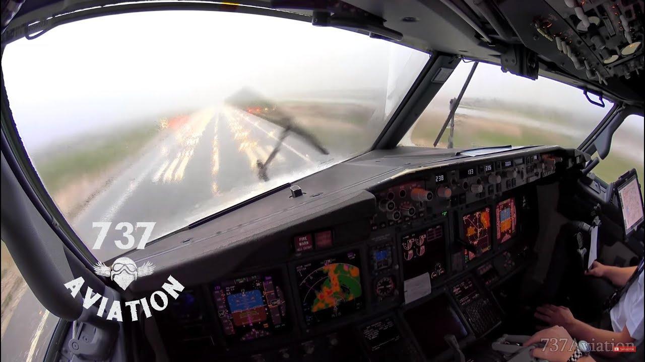 Schwierige Landung einer Boeing auf Mallorca
